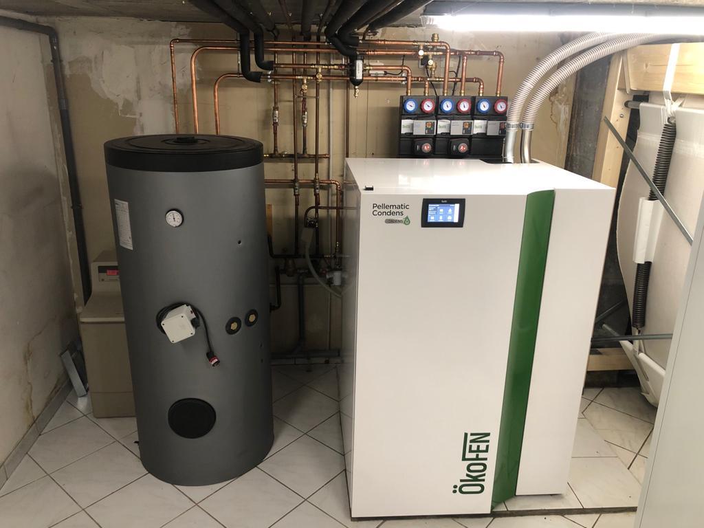 chaudière à granulés à condensation